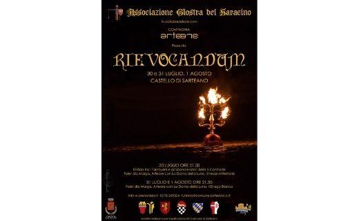 Rievocandum Giostra del Saracino di Sarteano 30 31 luglio e 1 agosto